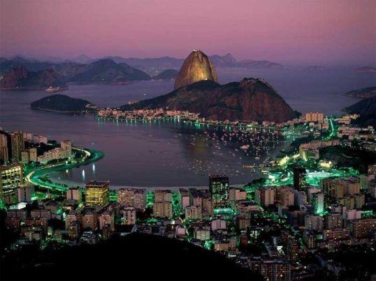 リオデジャネイロの夜景、最高!