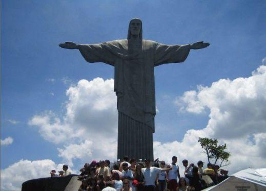 リオのコルコバード・キリスト像