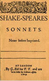 シェイクスピアのソネット