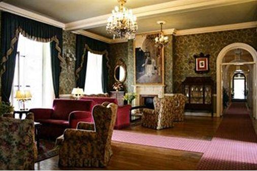 リルケが長く滞在したレイナ・ビクトリアホテルの内部