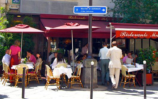 パリのオープン・カフェ、大好き