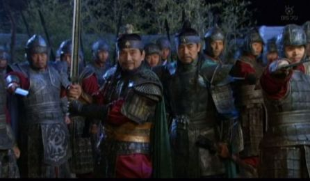 風2920 おいテソ王よ!これが何かわかるか?これこそがチュモンの神剣だ。この剣でそなたの首を斬って北方の覇者になってやる