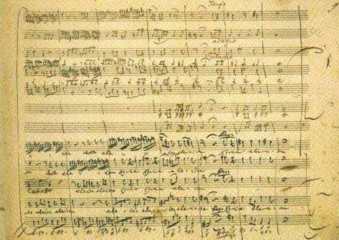 モーツァルトの楽譜 REQUIEM, KV626