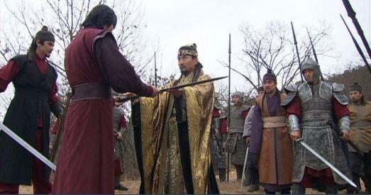 風3105 逃げ道を失いトジンにチュモンの神剣を渡すペグク