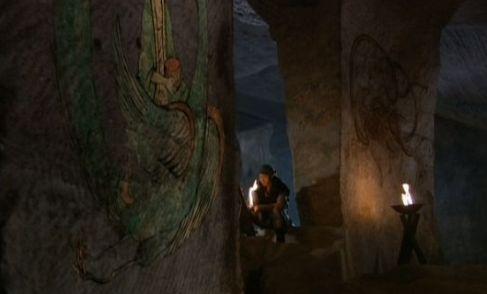 キリム洞窟の壁画1(中)