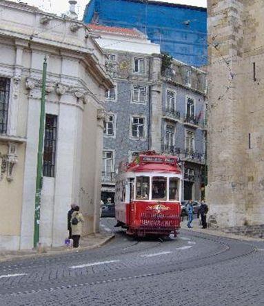 リスボンのトラム1