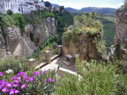 スペイン・ロンダの谷