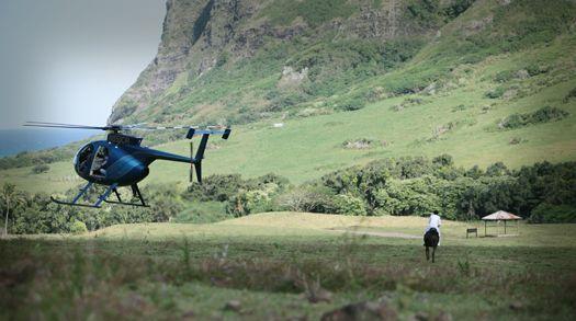111ハワイ島でロケ