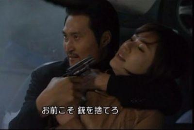 神男170 場面いきなり替わってソウル(銃撃戦のあと捕まる勇ましい女性刑事