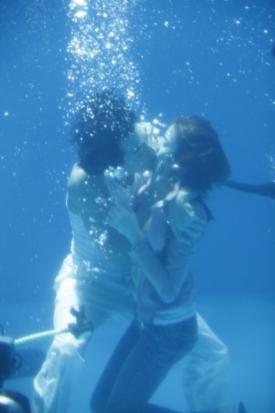 神男167溺れて沈むボベを見て助けるカンタだが・・・