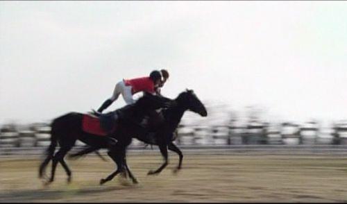 神男317 ビビアンのいたずらで暴走したボベの馬に乗り移るマイケル