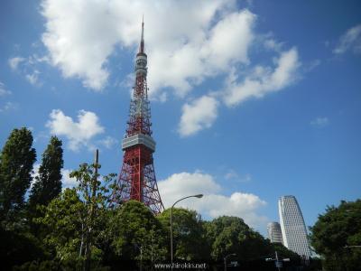 東京タワーと愛宕グリーンヒルズ